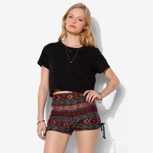 ECOTE for URBAN OUTFITTERS Aztec/Tribal Knit Short